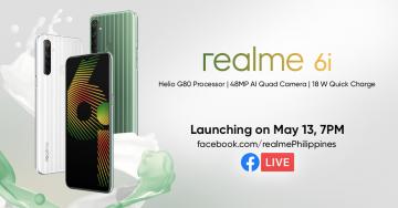 realme 6i Philippines launch