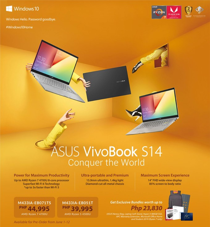 ASUS VIvoBook S14 (Philippines)