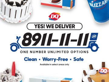 Dairy Queen delivery hotline