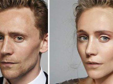 FaceApp gender swap Tom Hiddleston