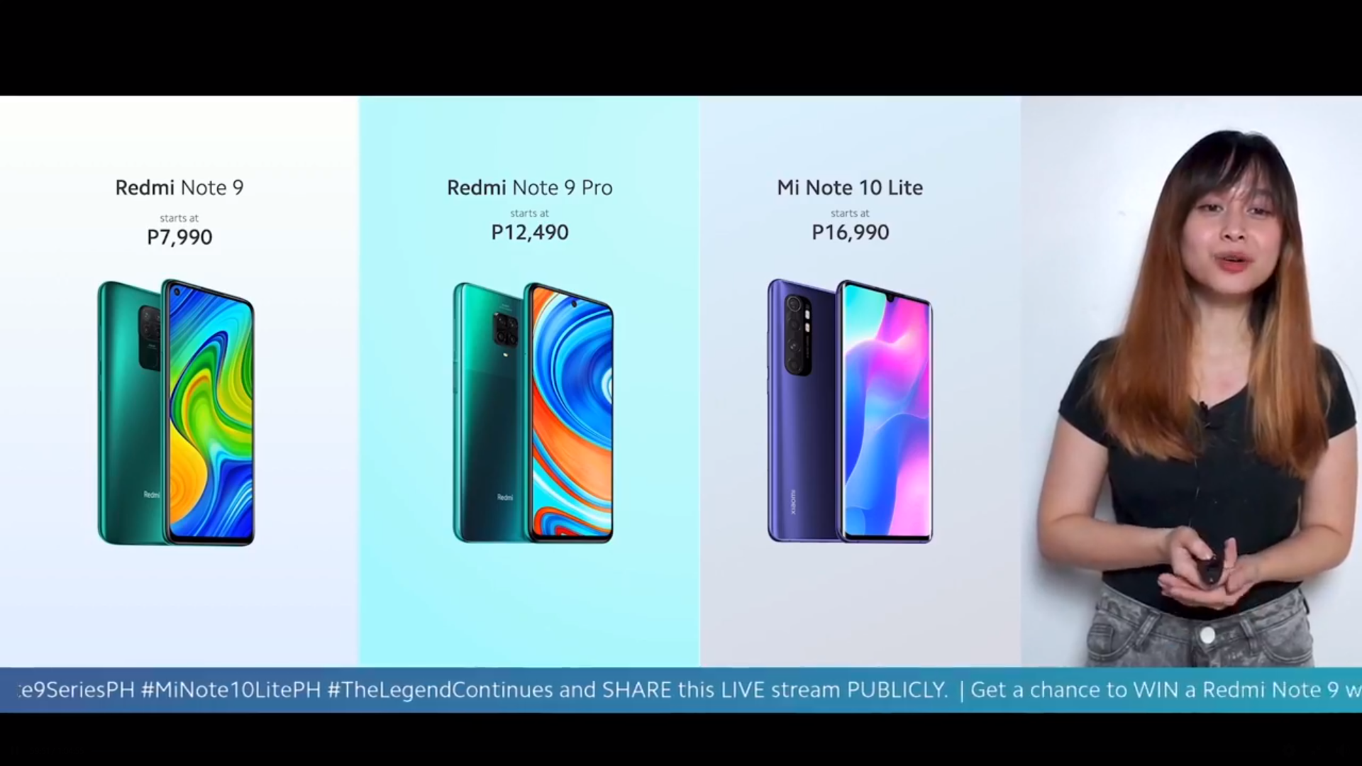 Redmi Note 9 Redmi Note 9 Pro Mi Note 10 Lite Philippines price release date