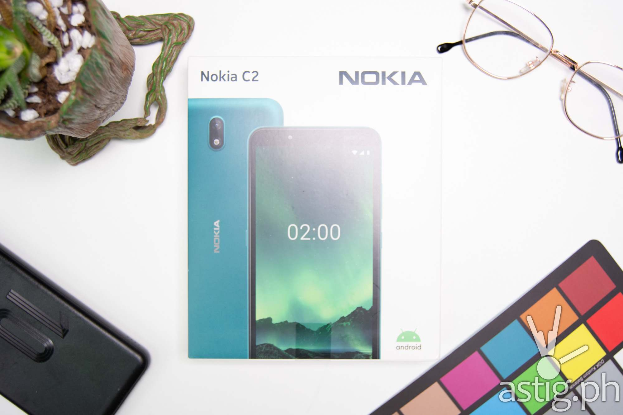 Box flatlay - Nokia C2 (Philippines)