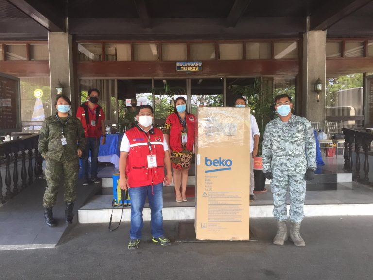 Donation turnover to OCD-NDRRMC, to be brought to COVID facilities in Rizal Stadium, Philippine Arena, and PICC.JPG