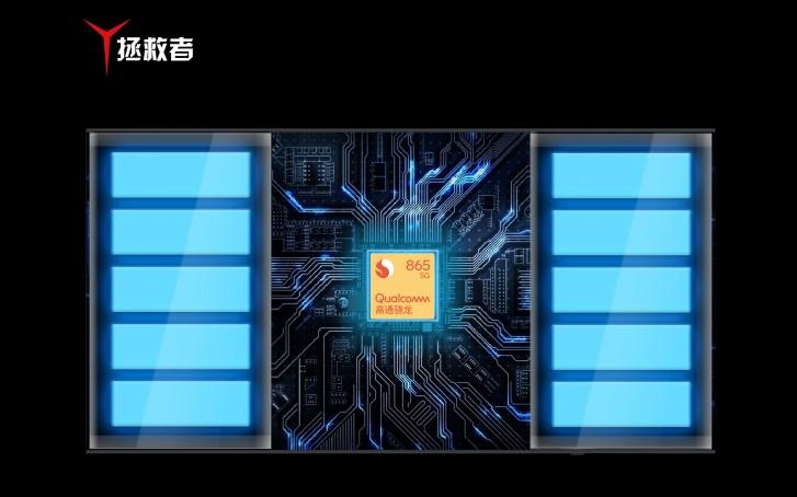 Dual liquid cooling system - Lenovo Legion Phone Duel gaming smartphone