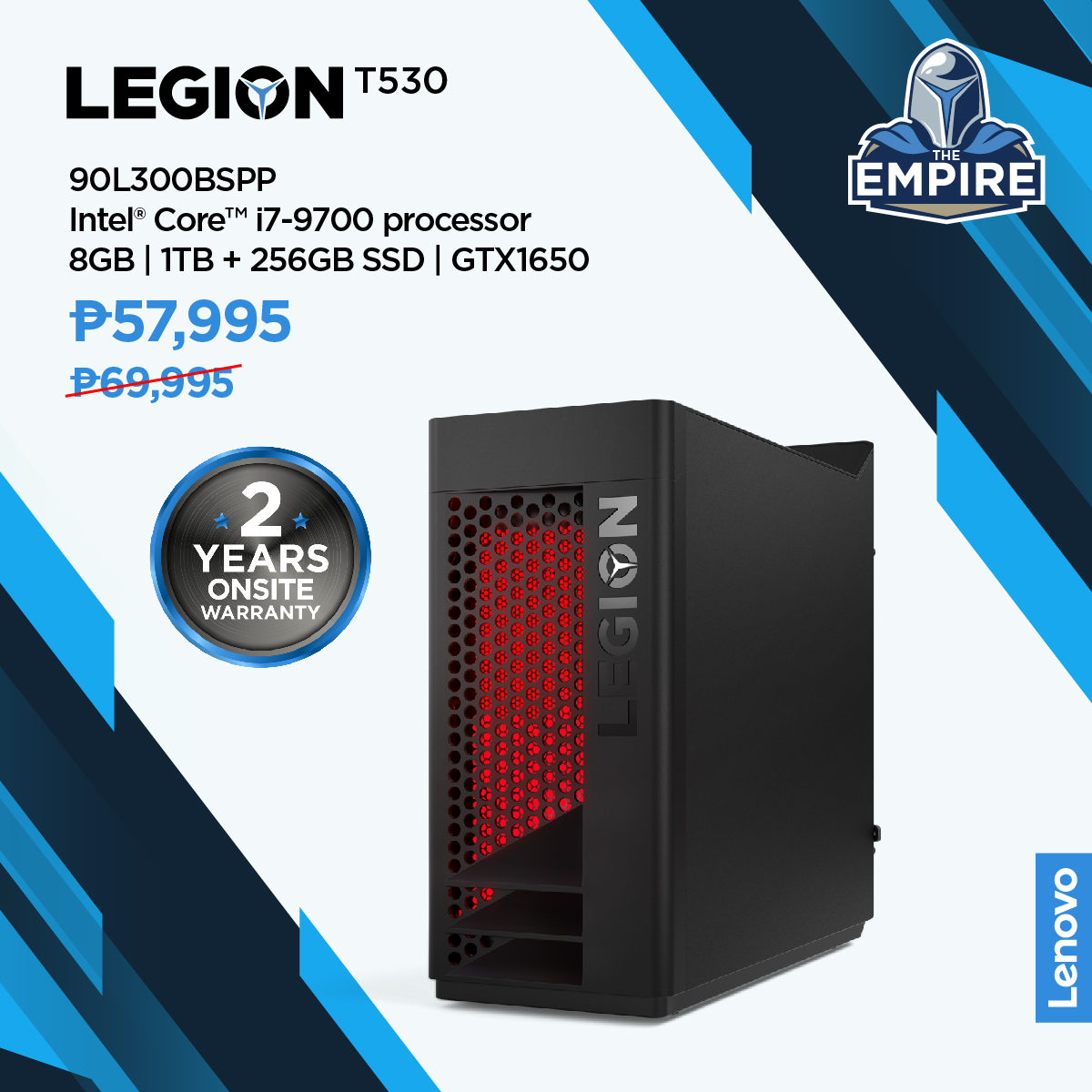Lenovo Legion Empire sale (Philippines)