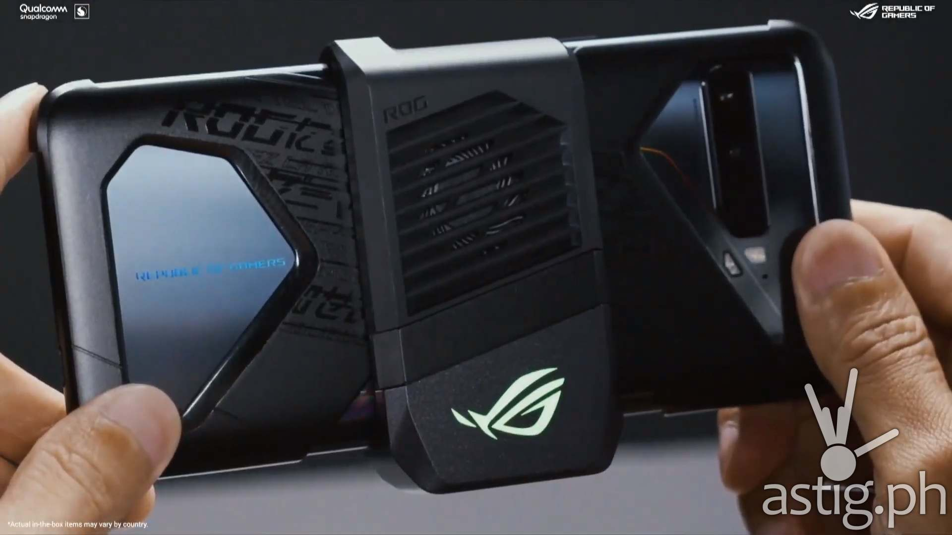 ROG Phone 3 Areoactive cooler