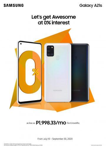 Samsung Galaxy A21s (Philippines)