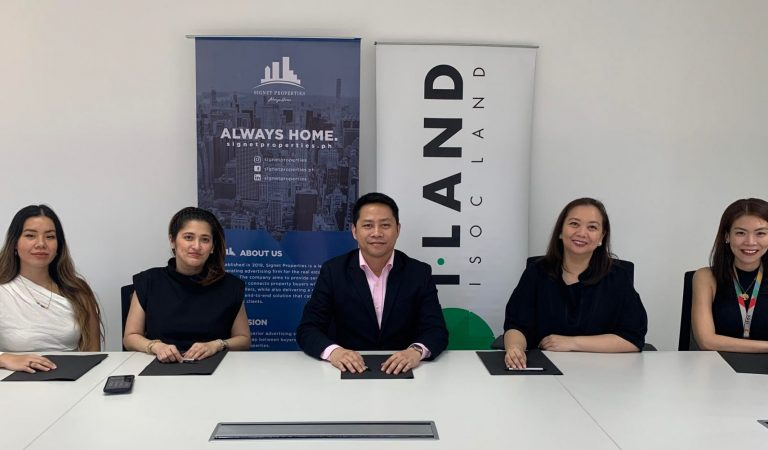 I-land forges strategic alliance with Signet Properties to market first residential mid-rise condo project in Sucat