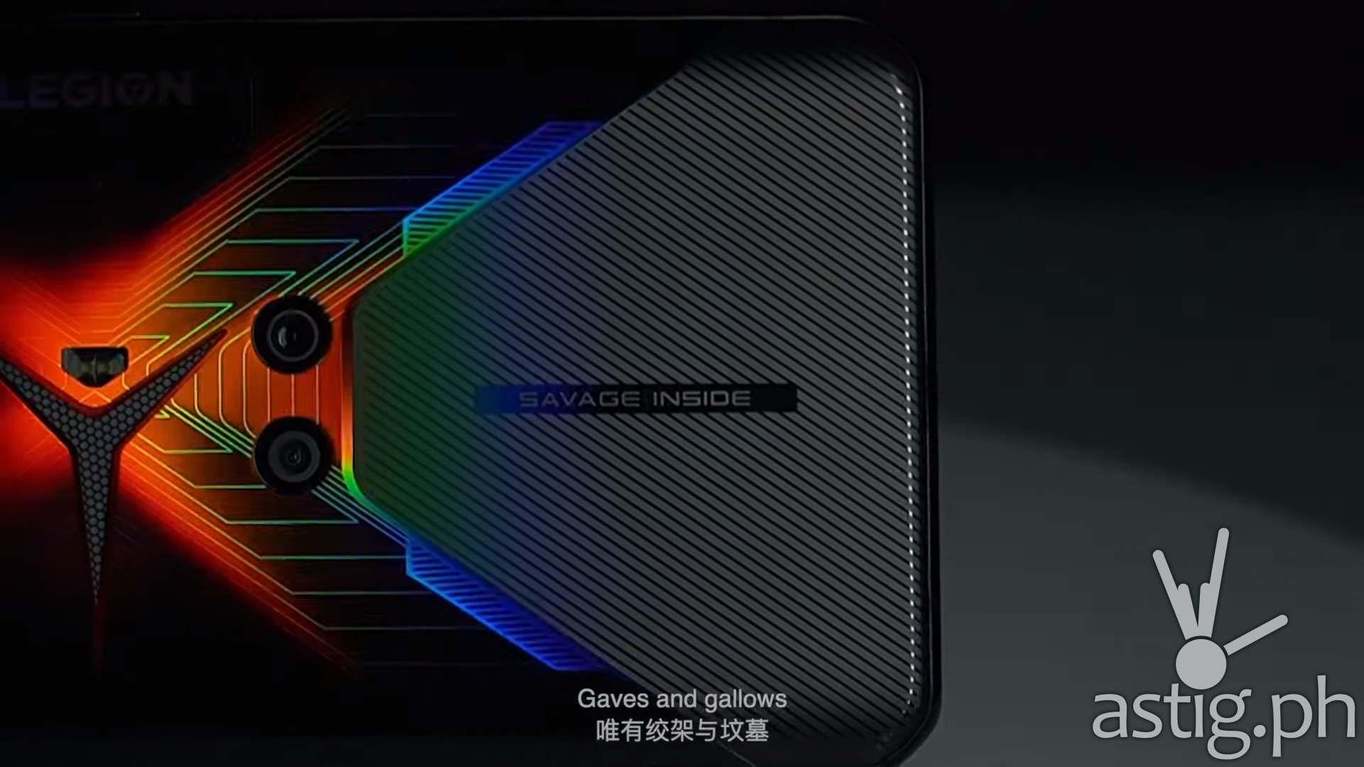 Stylish Outside, Savage Inside - Lenovo Legion Phone Duel gaming smartphone