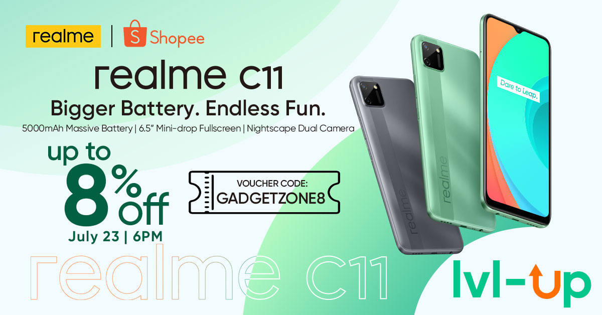 realme C11 discount Shopee Philippines