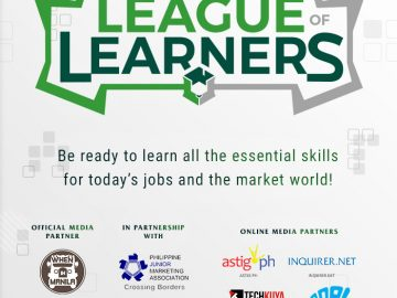 League of Learners 2020 event poster