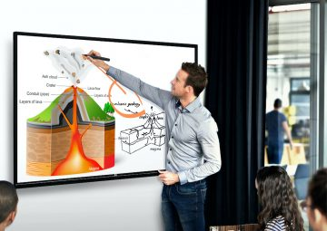 LG's Interactive Digital Board