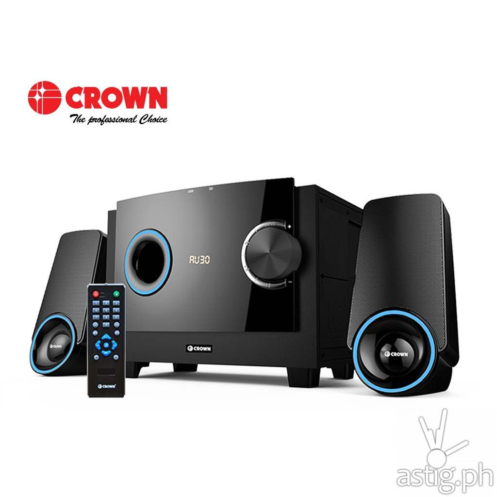 Crown HM-3401L 2.1 Channel Home Theater System