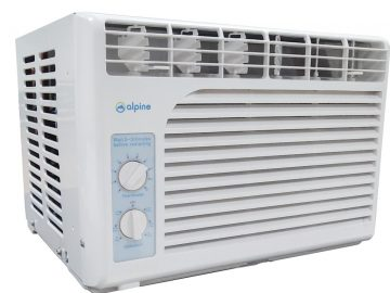 Front - Alpine BW-5MJ09A Window Type Air Conditioner 0.5HP