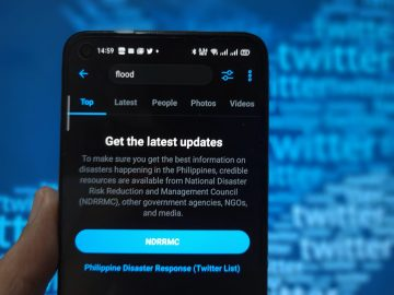 Twitter anti-fake news prompt NDRRMC Philippines