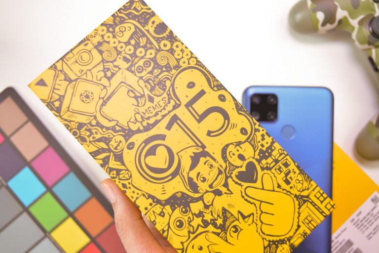Limited edition C15 custom box designed by Vince Ricohermoso - Realme C15 (Philippines)