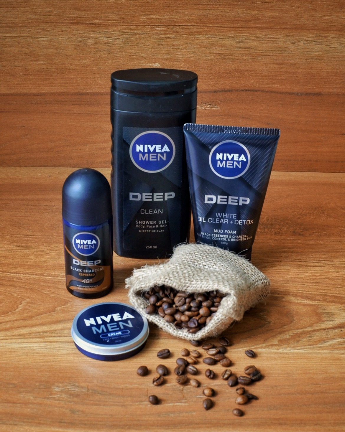 NIVEA MEN DEEP gift set