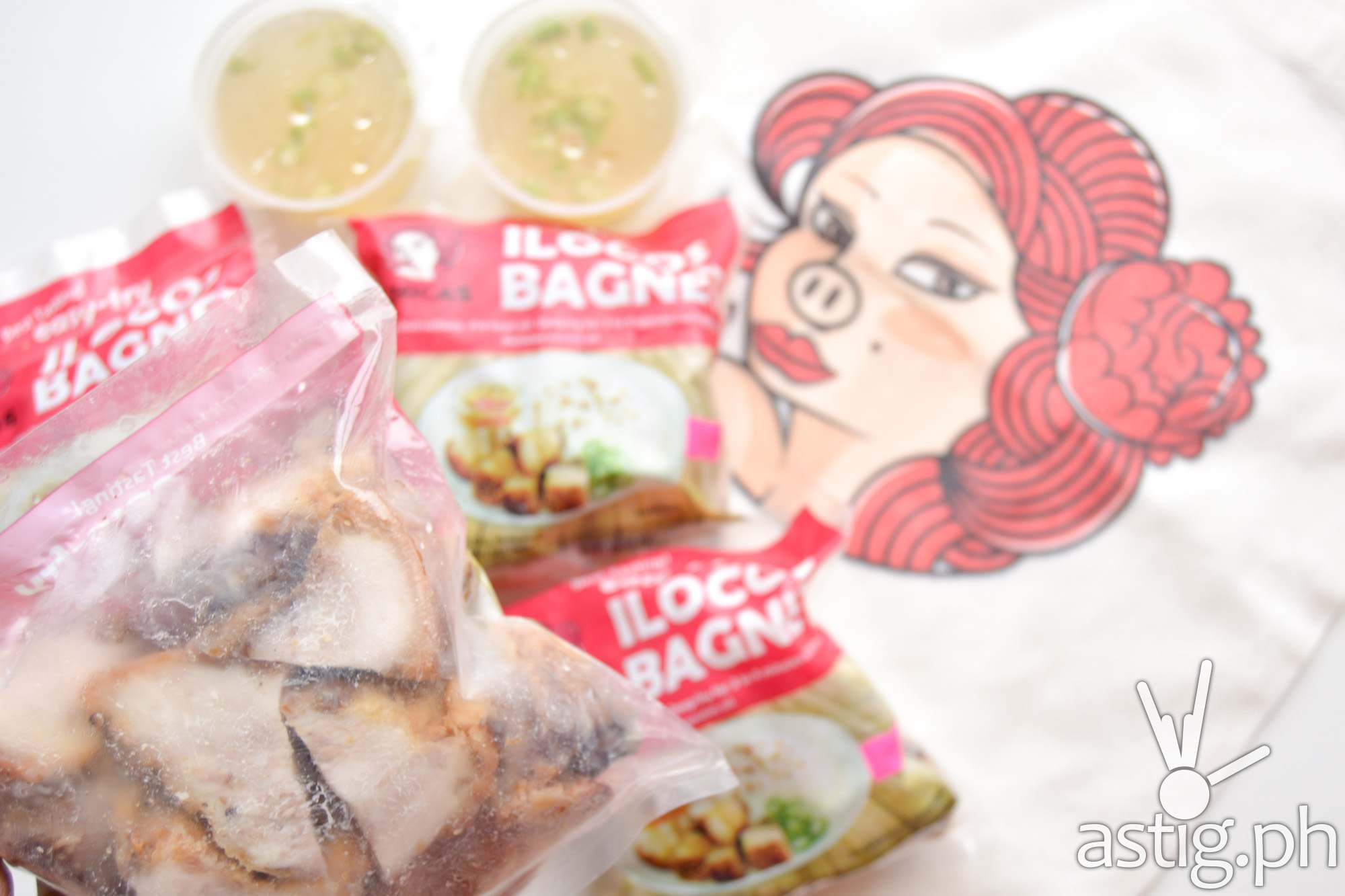 One pack of bagnet is good for 2-3 persons - Chica's Bagnet Express