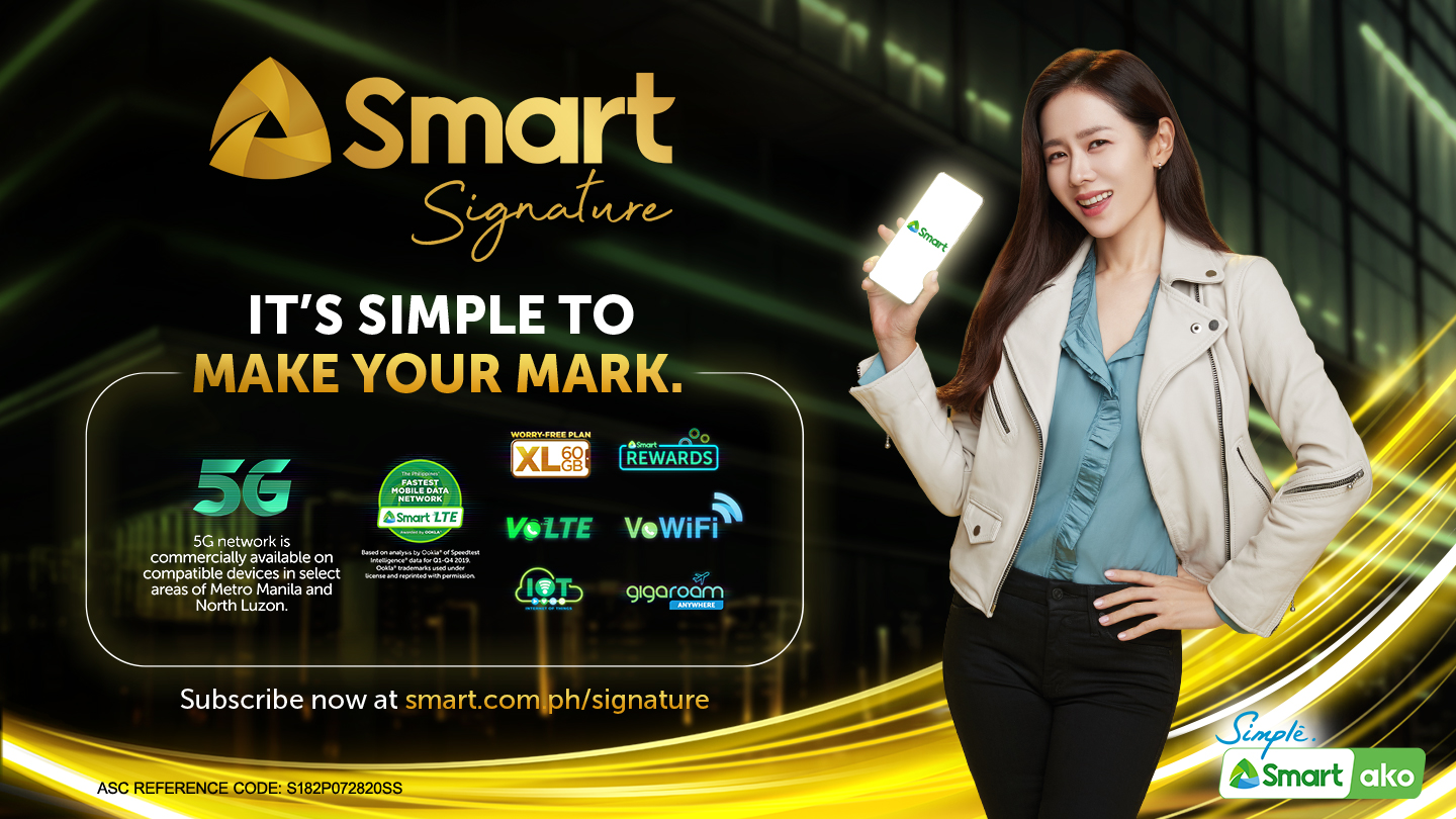 Son Ye Jin - Smart Signature banner