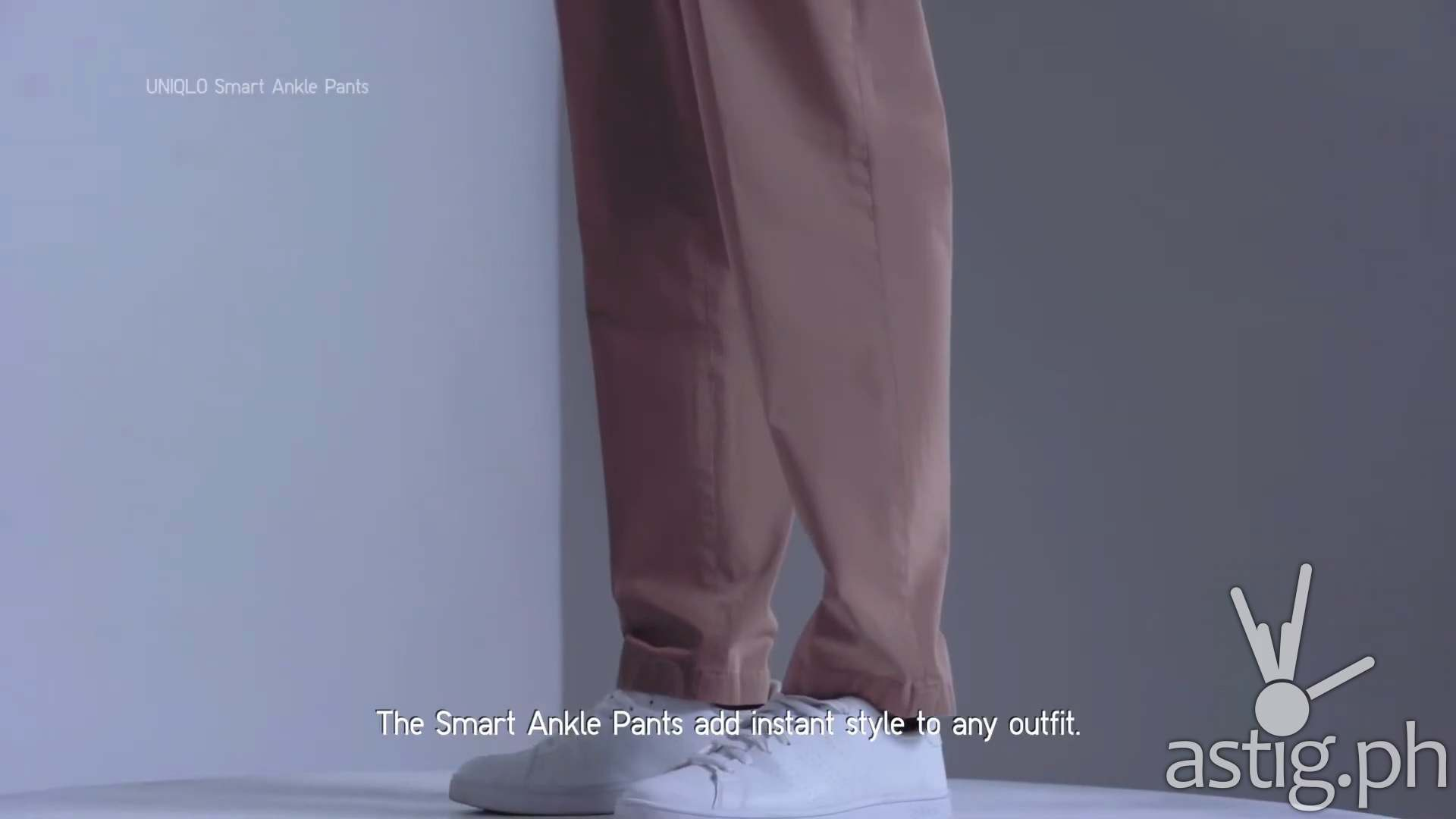 Smart ankle pants - UNIQLO fall winter collection 2020