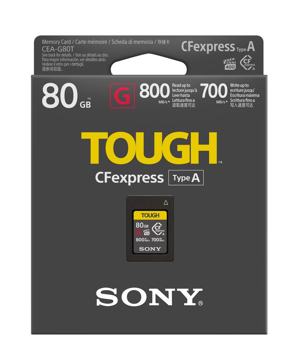 Sony CEA-G80T CFexpress Type A card