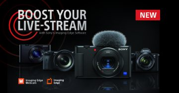 Sony Imaging Edge Webcam live streaming