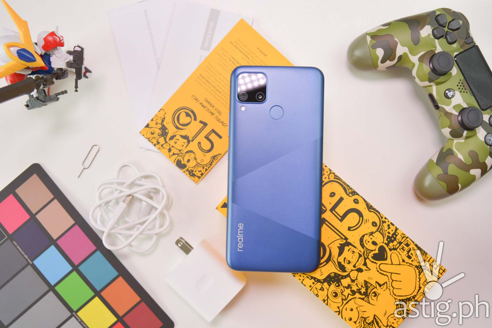 Unboxed back - Realme C15 (Philippines)