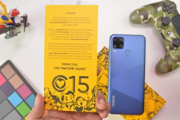 Welcome note - Realme C15 (Philippines)