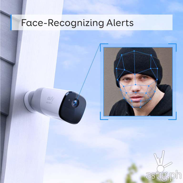 AI face recognition - Anker Eufy Cam
