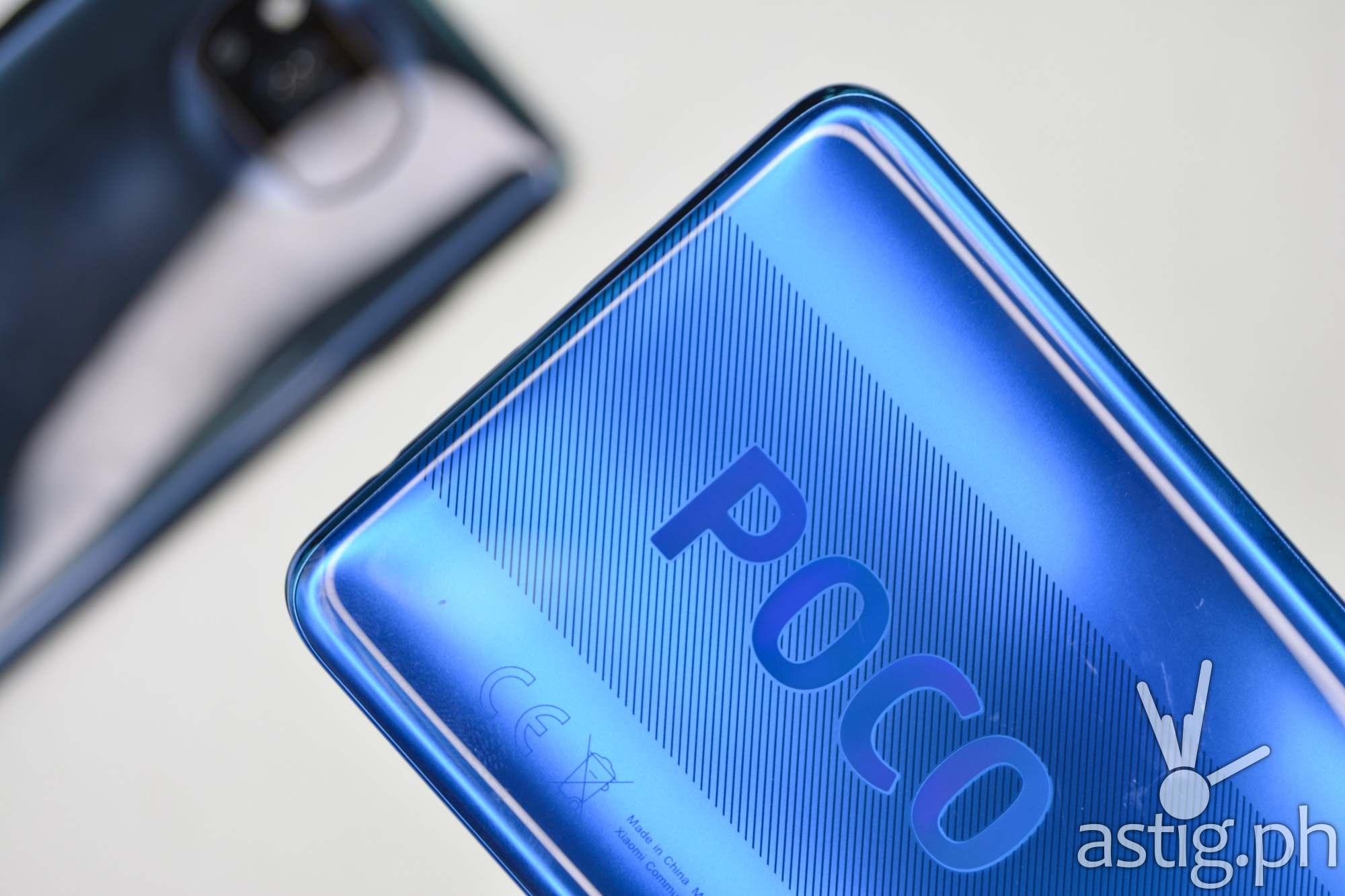 Back logo blue - POCO X3 NFC (Philippines)