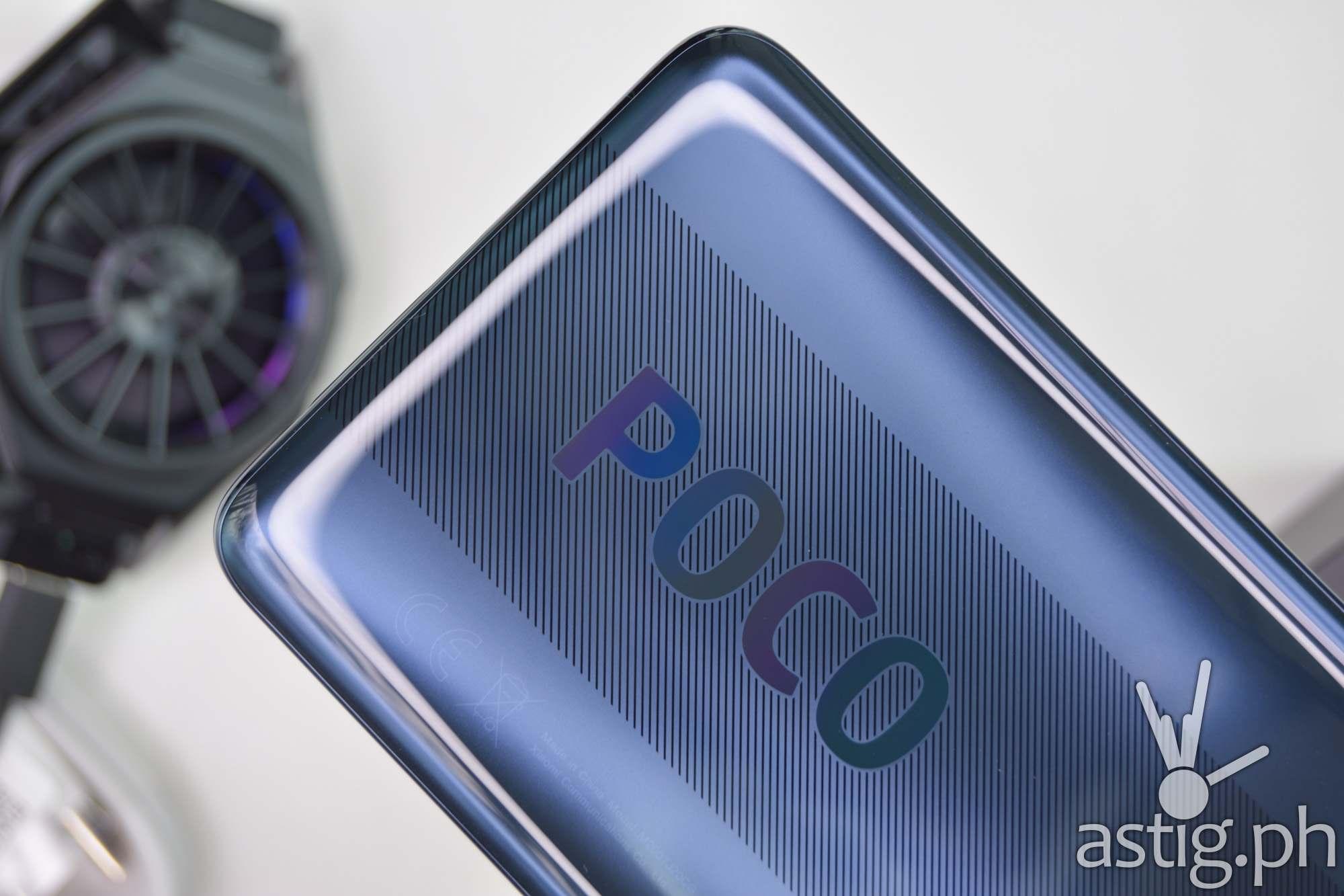 Back logo gray - 202009 POCO X3 NFC (Philippines)