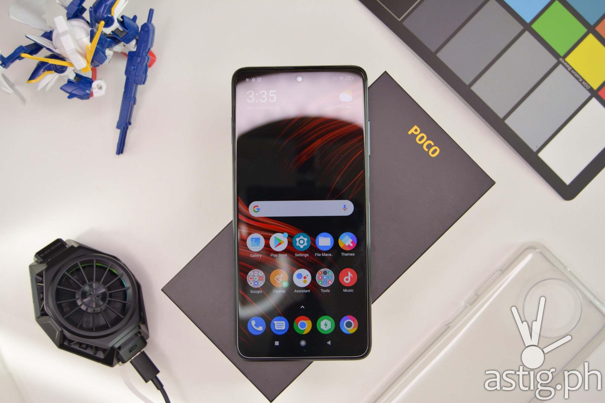 Flatlay - POCO X3 NFC (Philippines)