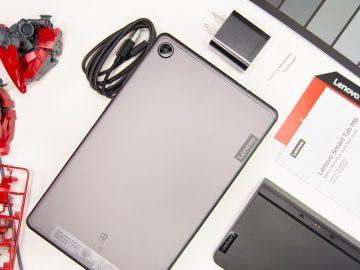 Flatlay back - Lenovo Smart Tab M8 (Philippines)