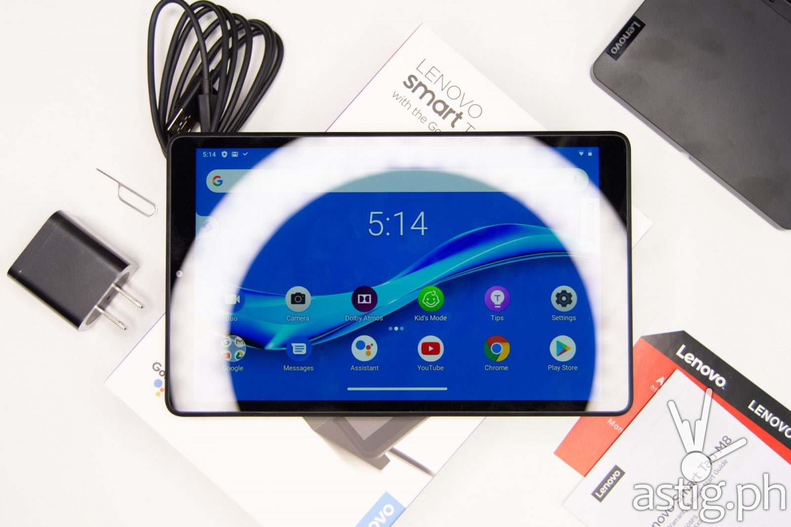Front unboxed - Lenovo Smart Tab M8 (Philippines)