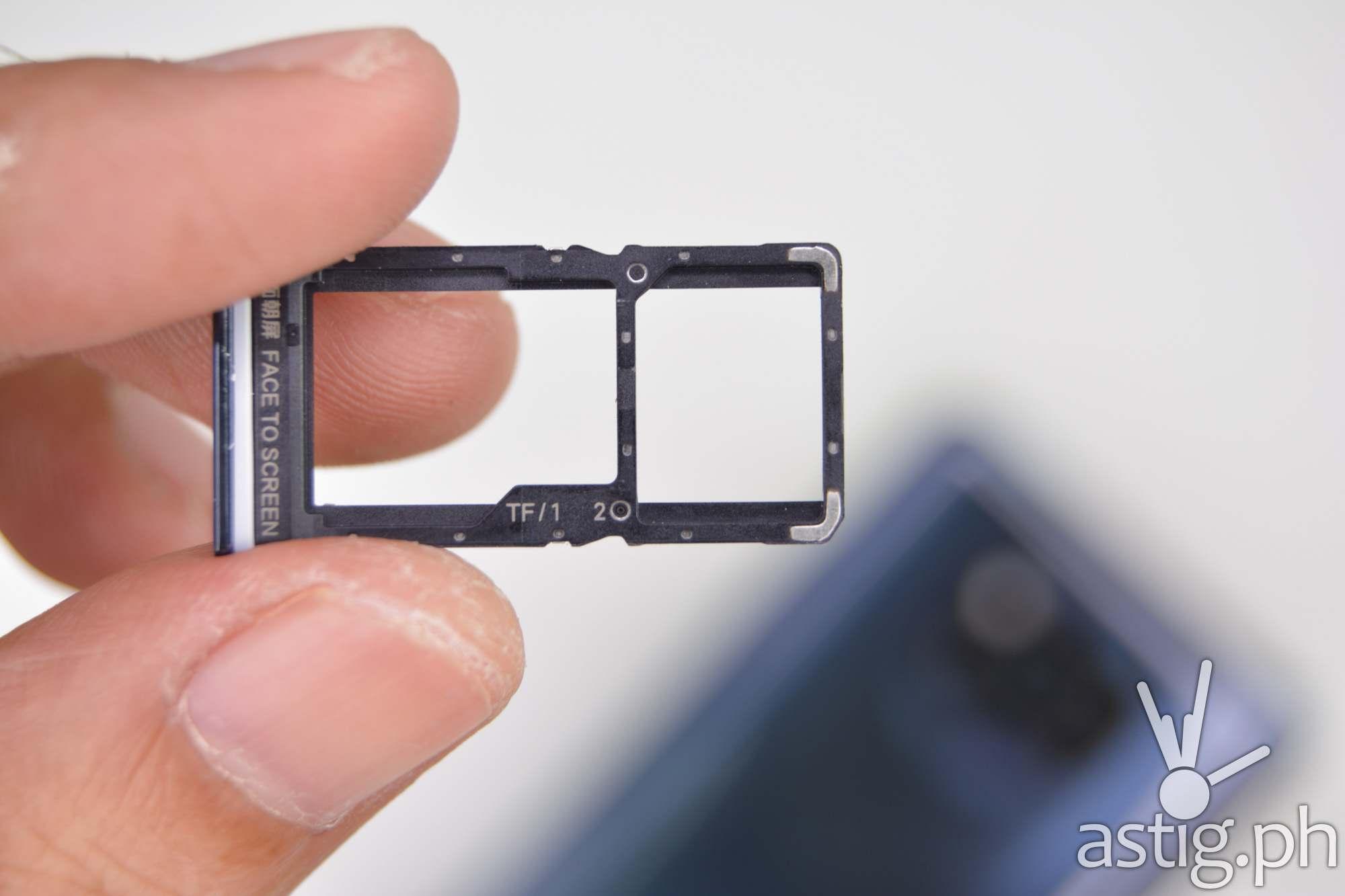 Hybrid dual SIM tray - 202009 POCO X3 NFC (Philippines)