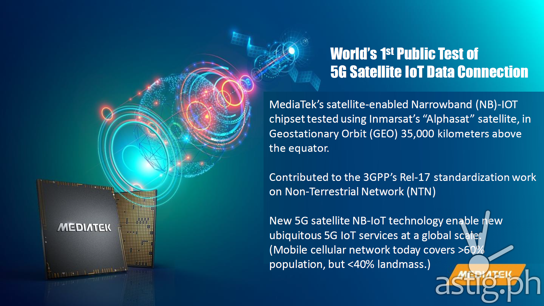 MediaTek 5G Satellite Network Philippines