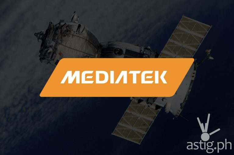 MediaTek logo satellite