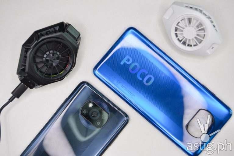 POCO X3 NFC Shadow Gray, POCO X3 Cobalt Blue, FunCooler, FunCooler Pro - 202009 POCO X3 NFC (Philippines)