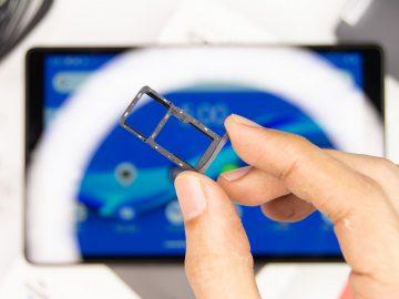 SIM + Micro SD tray - Lenovo Smart Tab M8 (Philippines)