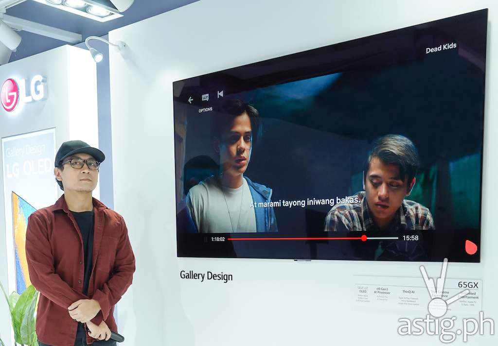 Direk Mikhail Red for LG OLED Cinematic Experience