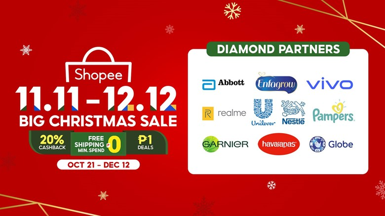 Shopee 11.11-12.12 Big Christmas Sale
