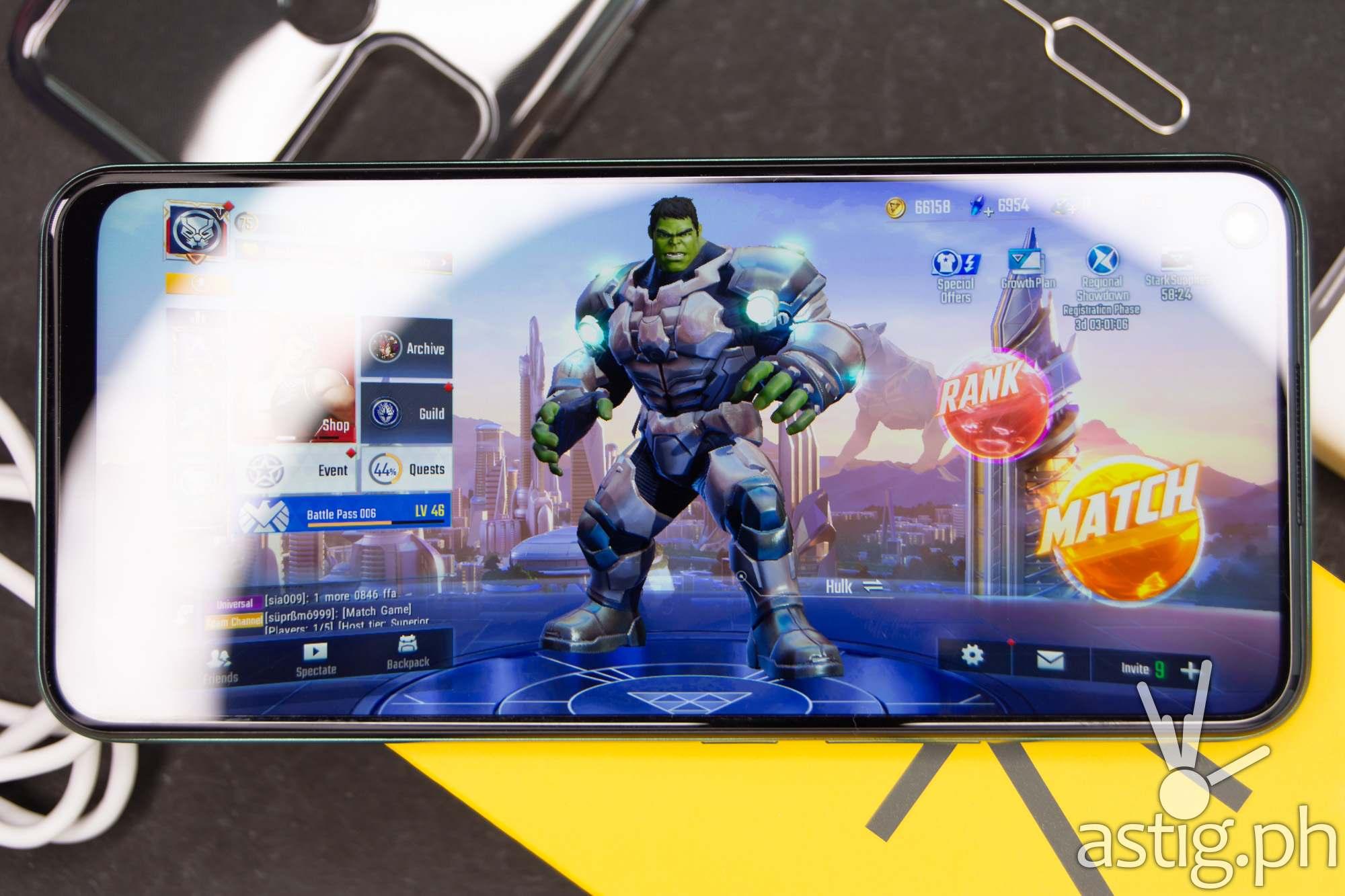 Marvel Super War mobile game - realme 7i (Philippines)