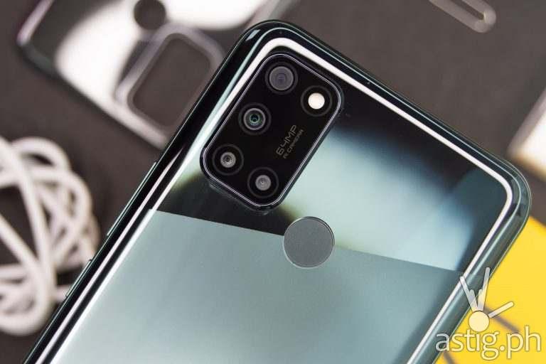 64MP quad cameras, fingerprint scanner - realme 7i (Philippines)
