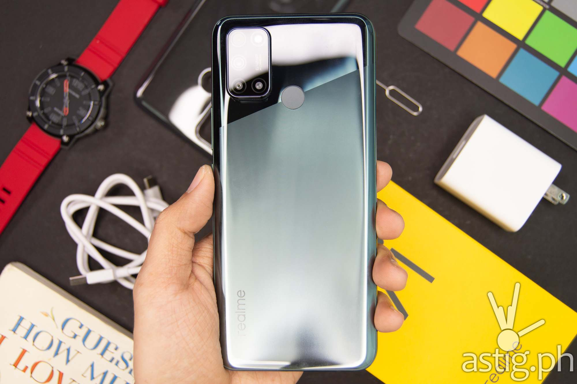 Back handheld - realme 7i (Philippines)