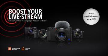 Sony Imaging Edge Webcam macOS Windows