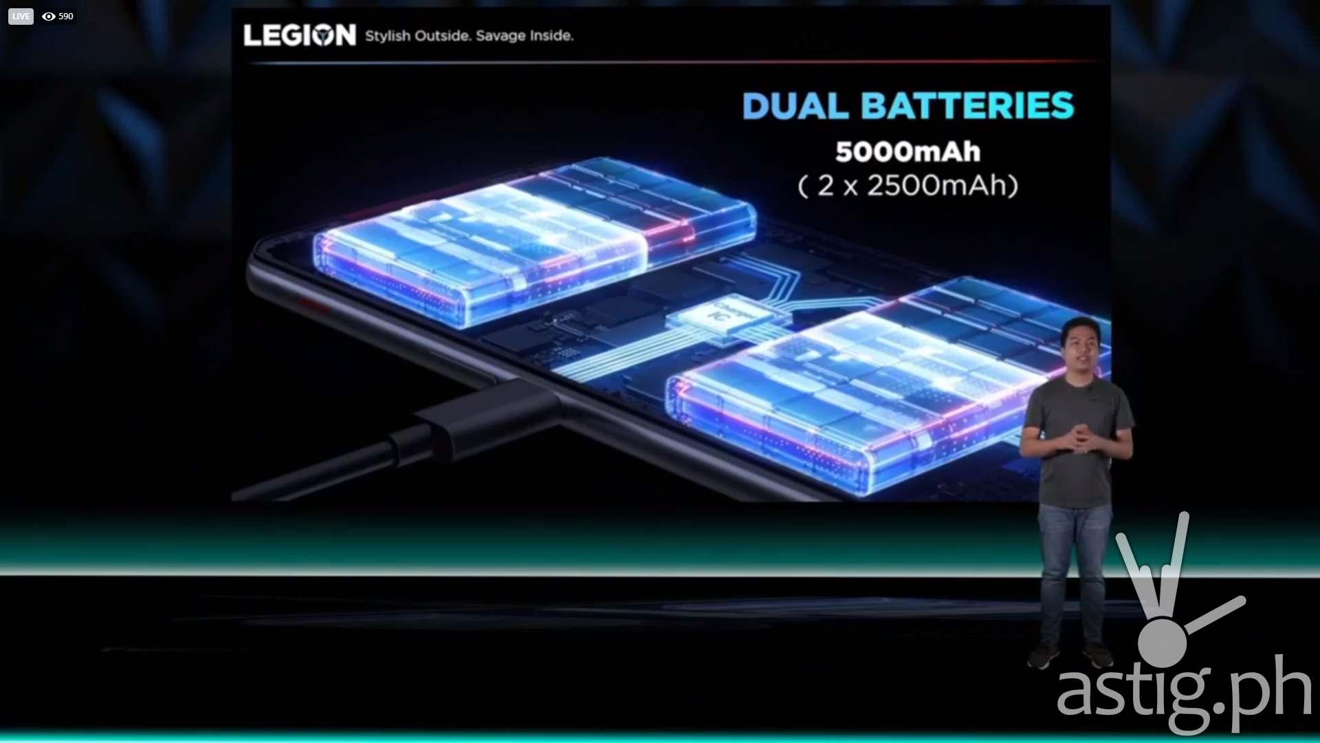Dual battery - Legion Phone Dual