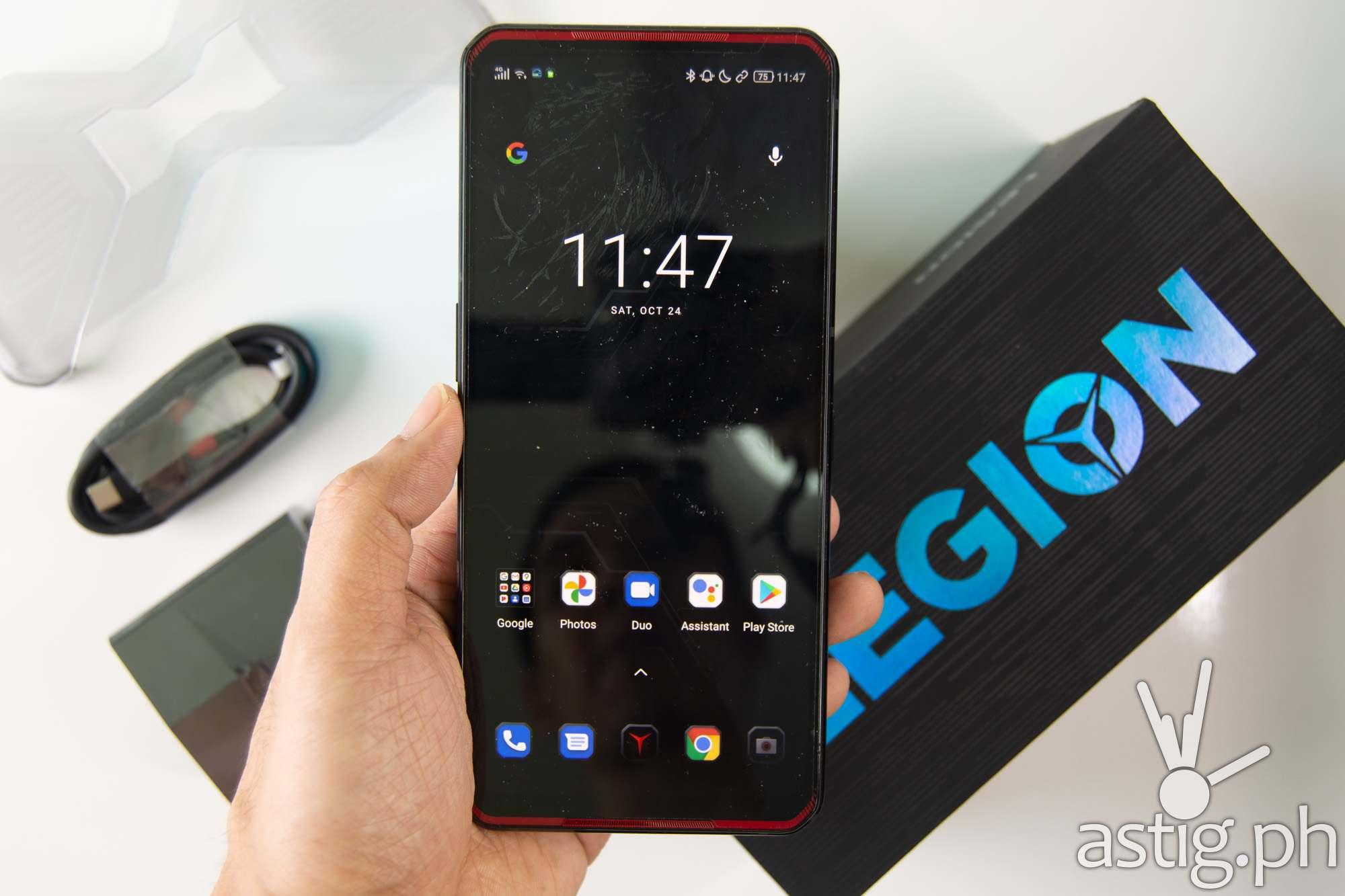 Front handheld - Legion Phone Duel (Philippines)