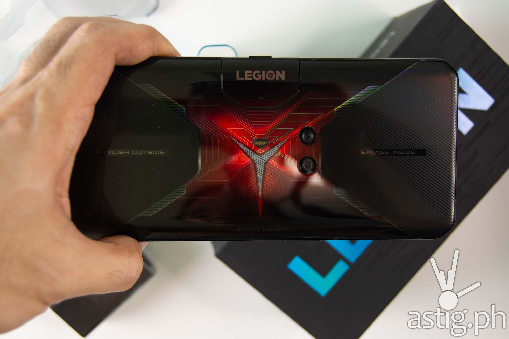 Back handheld - Legion Phone Duel (Philippines)