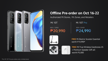 Mi 10T Pro launch Philippines - offline