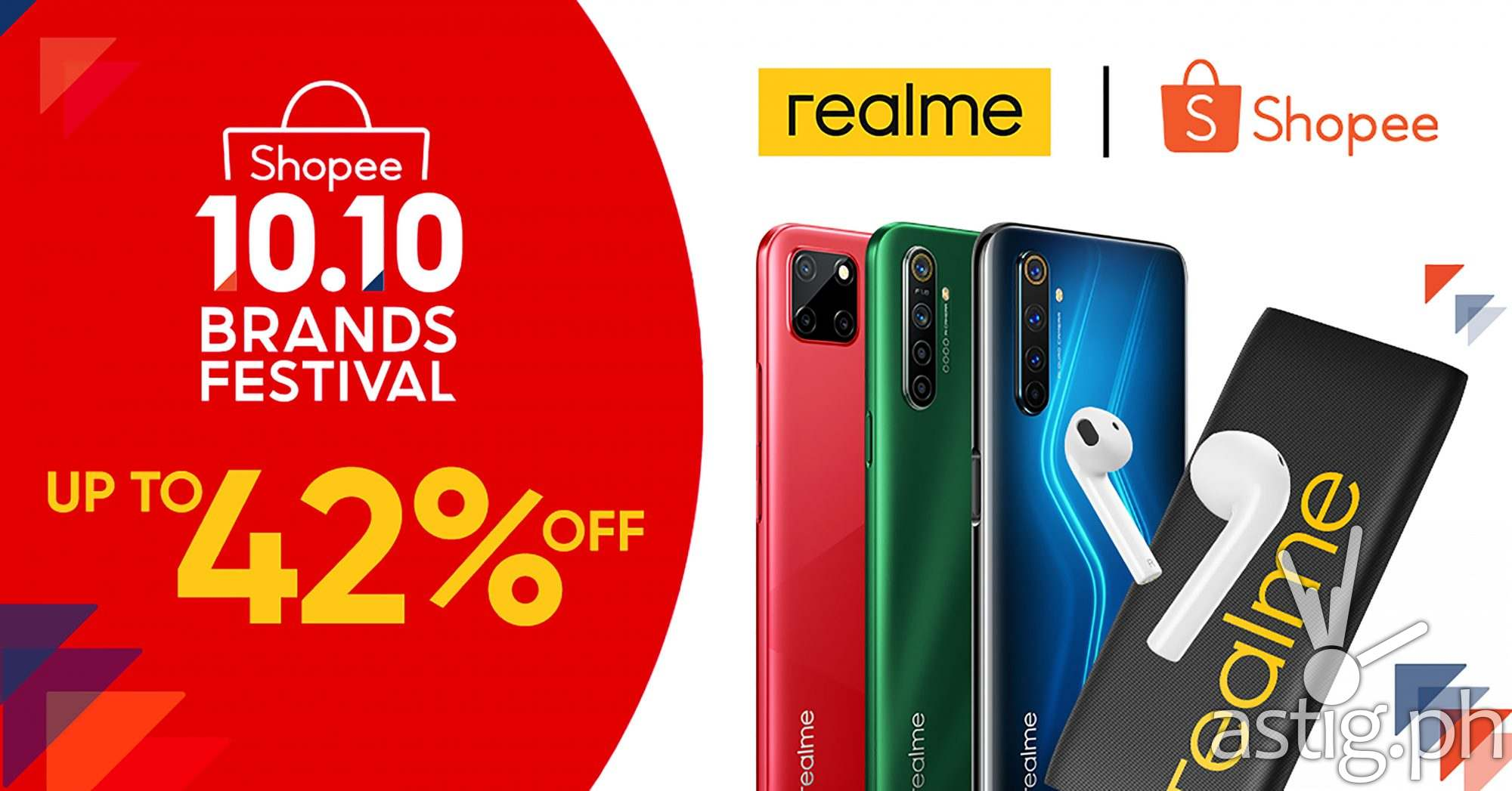 realme 10.10 2020 sale Shopee